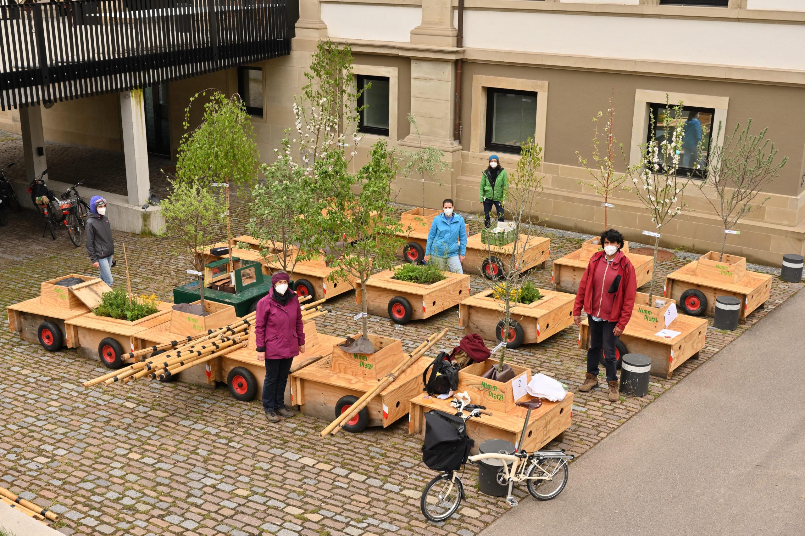 Wanderbaumallee Stuttgart 2021: Wanderung Stadtpalais - Haußmannstraße